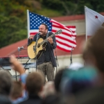 Dave Matthews at Bernie Sanders Rally in San Francisco, June 6, 2016