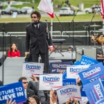 Dr. Cornel West at Bernie Sanders Rally in San Francisco, June 6, 2016