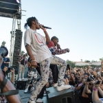 A$AP Rocky at Fool's Gold Day Off at Shrine LA