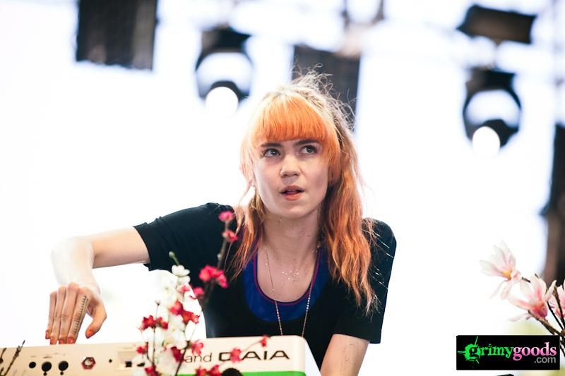 GRIMES photos coachella