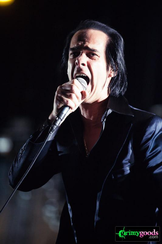 Nick Cave Bad Seeds photos Coachella