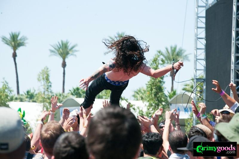 Trash Talk coachella photos