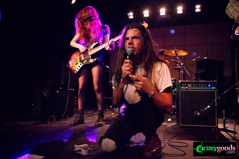 The Lovely Bad Things with Moses Campbell, Beach Party, Death Hymn #9 and Red Onion at The Echo - Photos- February 12, 2013