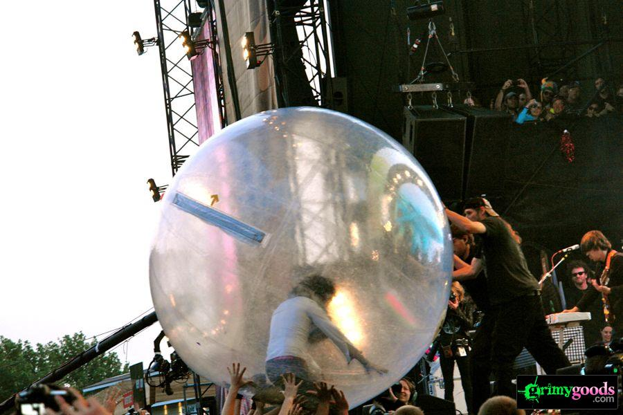 the flaming lips bubble photo
