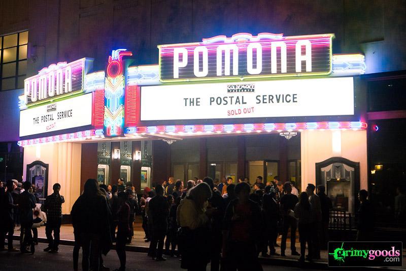 Postal Service photos Fox Theater Pomona