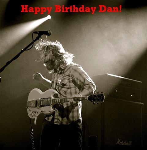 Happy Birthday Dan Auerbach, The Black Keys