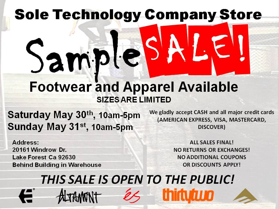 SAMPLE SALEsp09