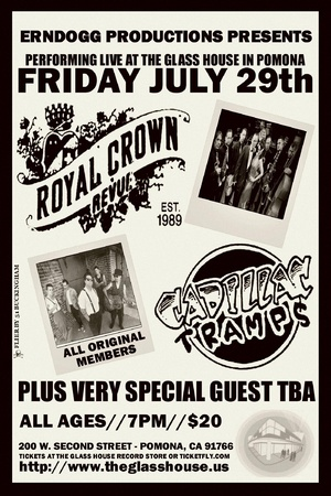 Contest Win Tickets to The Royal Crown Revue with CADILLAC TRAMPS