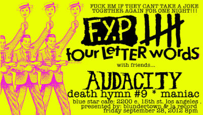Contest: Win Tickets to FYP at the Blue Star Cafe (September 28