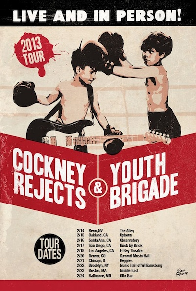 Cockney Rejects & Youth Brigade