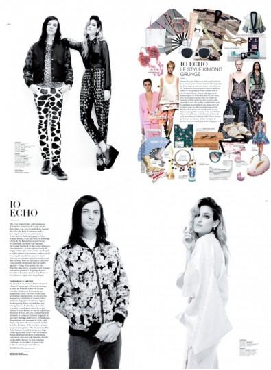 IO ECHO Photo from Jalouse Magazine