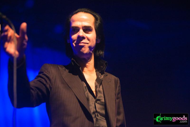 Nick Cave live photos