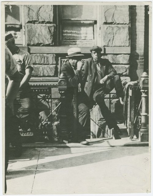 Jay-Z Time Travels to 1939 Photo Harlem New York