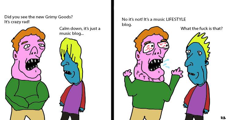 New Grimy Goods Music Blog