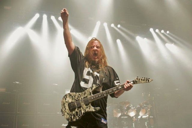 Slayer Jeff Hanneman Memorial Celebration at Hollywood Palladium