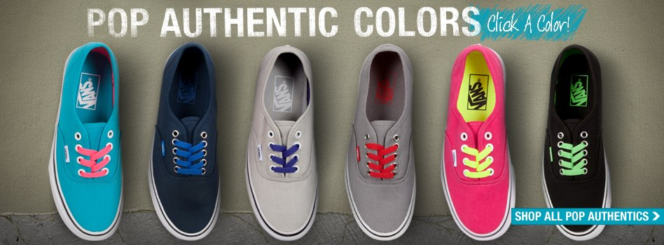 Want Some New Shoes? Win a Pair of VANS!