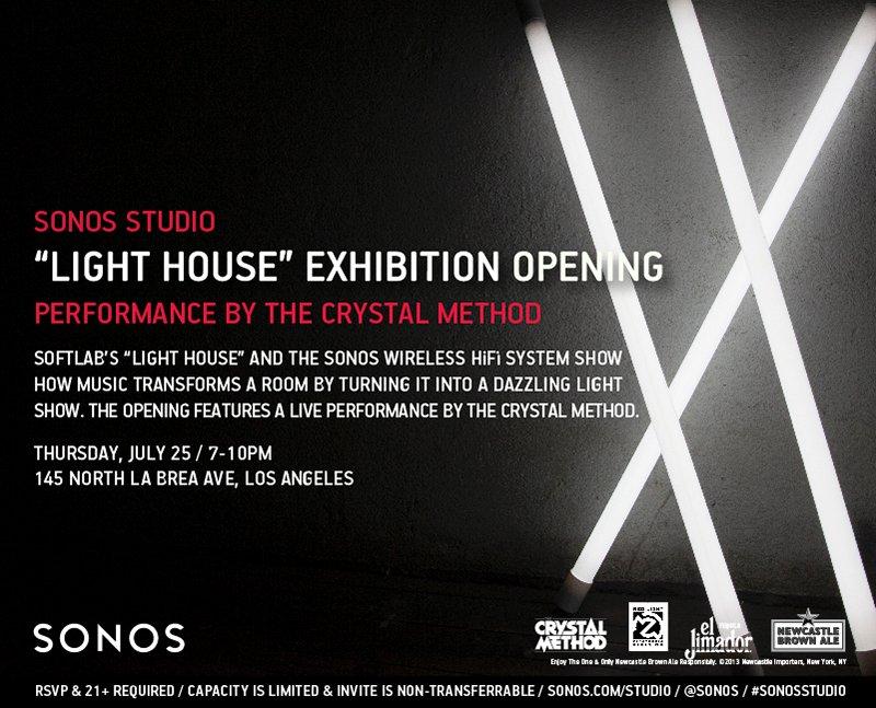 FREE Crystal Method Show at Sonos Studio July 25 - Grimy Goods